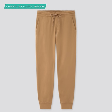 Men Ultra Stretch Active Pants, Beige, Medium