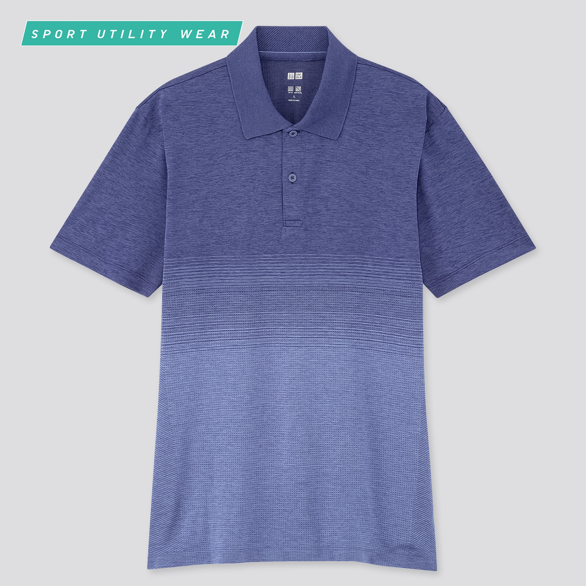 MEN DRY-EX SHORT-SLEEVE POLO SHIRT