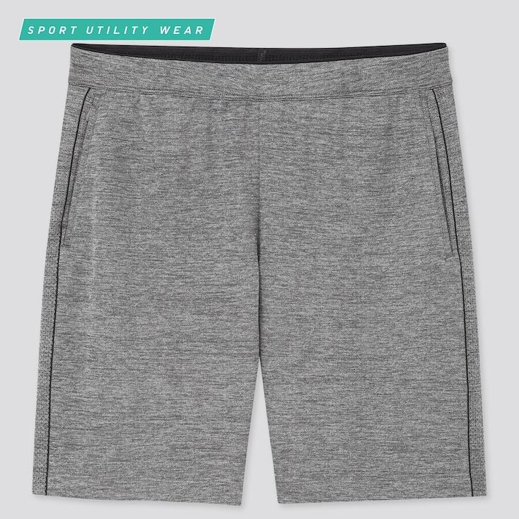 Men Dry-Ex Shorts, Gray, Large