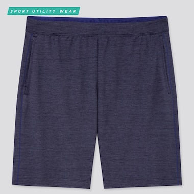 Men Dry-Ex Shorts, Navy, Medium