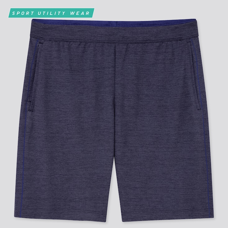 Men Dry-Ex Shorts, Navy, Large