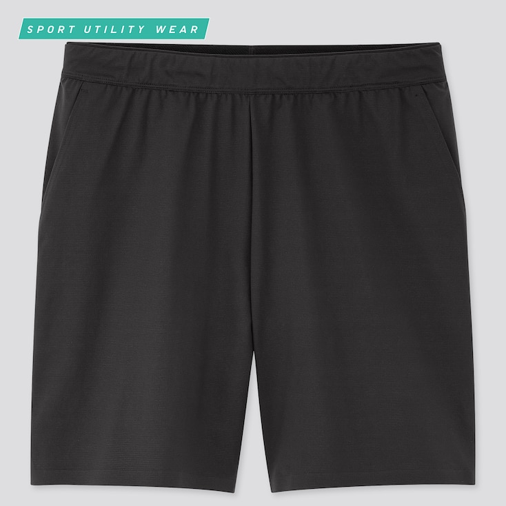 Men Dry-Ex Ultra Stretch Active Shorts, Black, Large