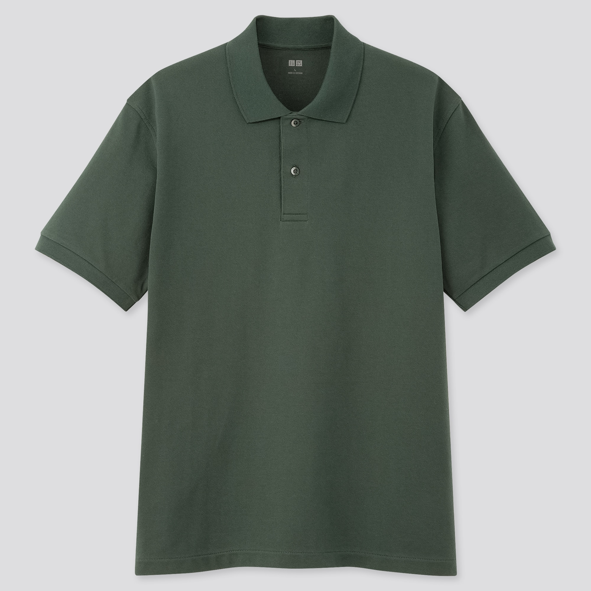 DRY PIQUE SHORT-SLEEVE POLO SHIRT