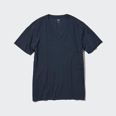 T-Shirt 100% Coton Supima Col V Homme