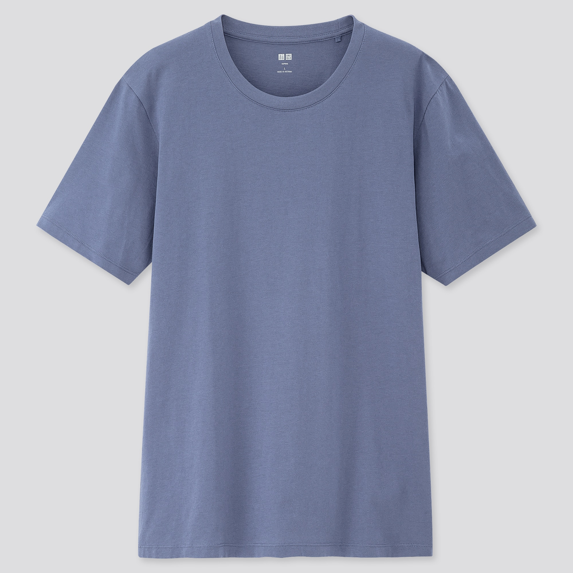 men supima® cotton crew neck short-sleeve t-shirt