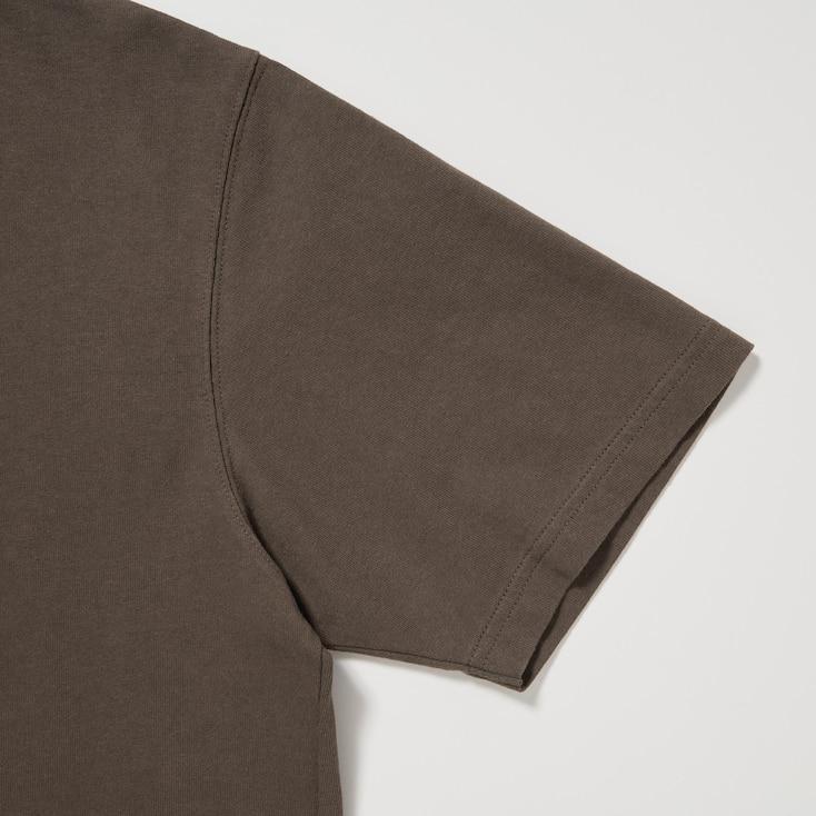 U Crew Neck Short-Sleeve T-Shirt, White, Large