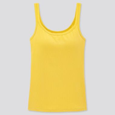 AIRism Camiseta Con Sujetador Algodón Canalé Mujer