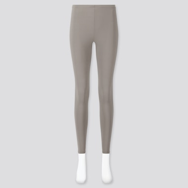 Women Airism Uv Protection Leggings, Gray, Medium