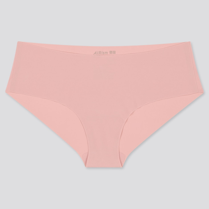 Women Airism Ultra Seamless Hiphugger, Pink, Large