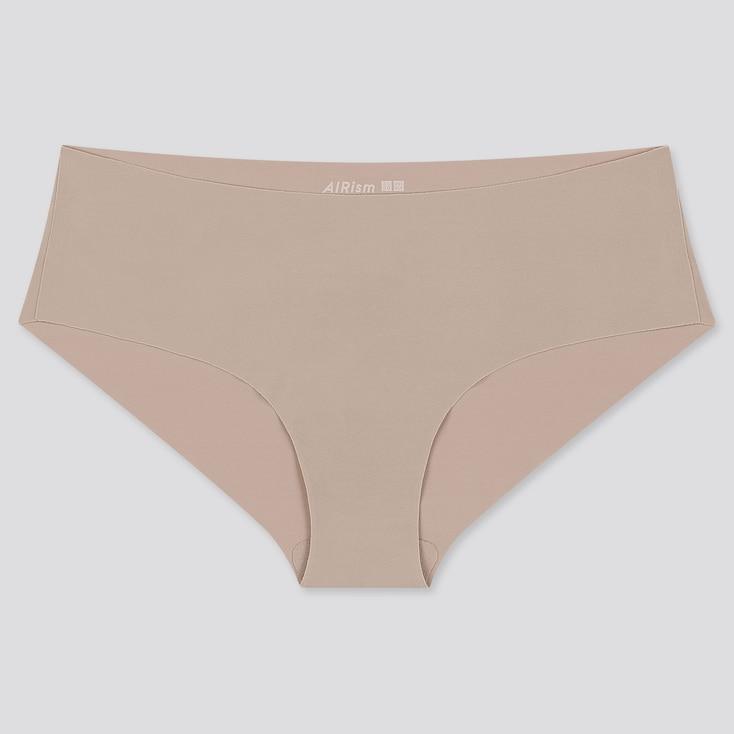 Women Airism Ultra Seamless Hiphugger, Khaki, Large