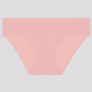 Women Airism Ultra Seamless Bikini, Pink, Medium