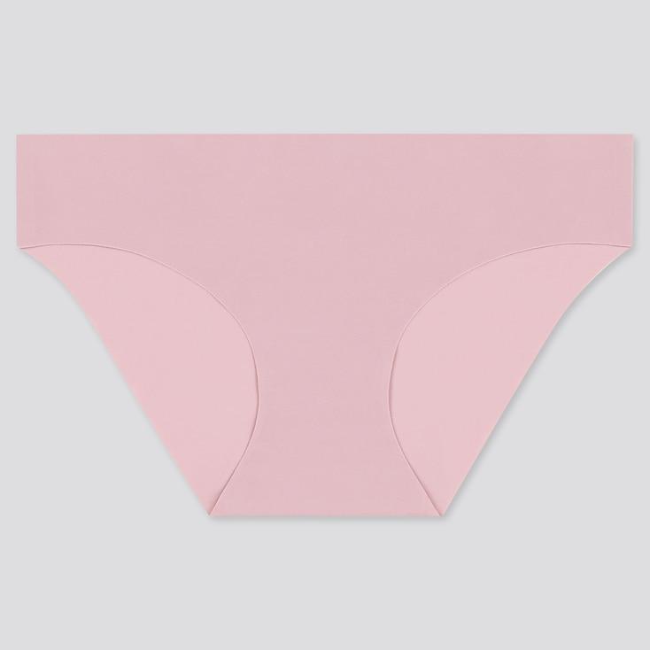 Women Airism Ultra Seamless Bikini, Purple, Large
