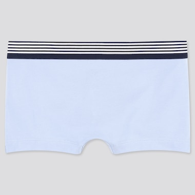 Women Boy Shorts, Blue, Medium