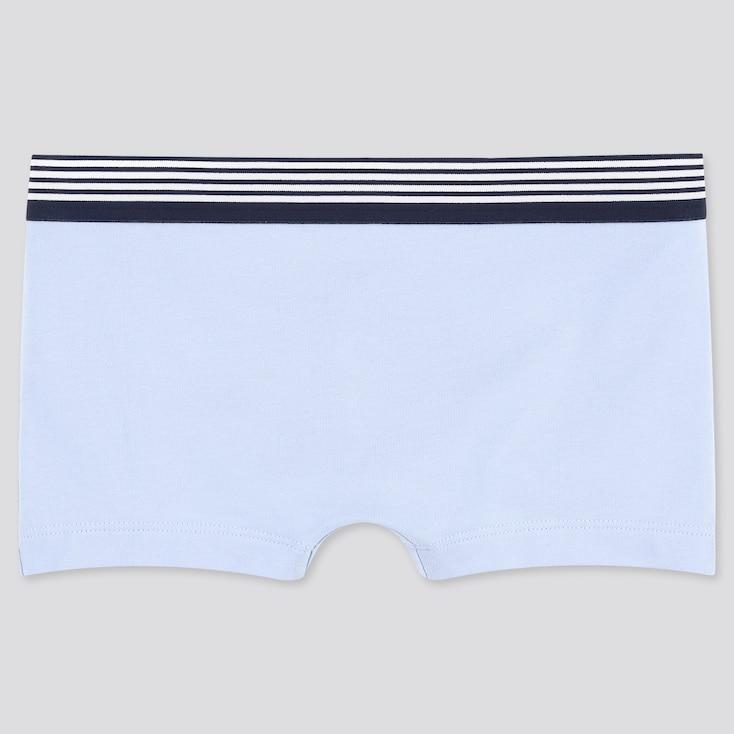 Women Boy Shorts, Blue, Large
