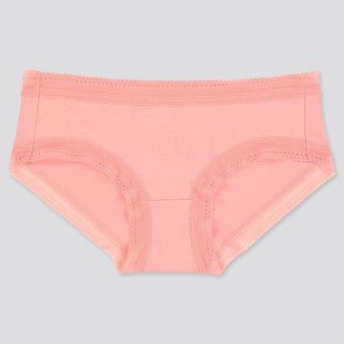 Women Hiphugger, Pink, Medium
