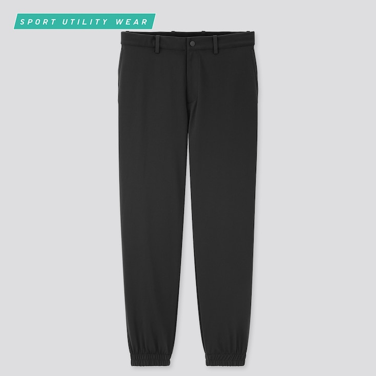Men Ezy Dry-Ex Jogger Pants, Black, Large