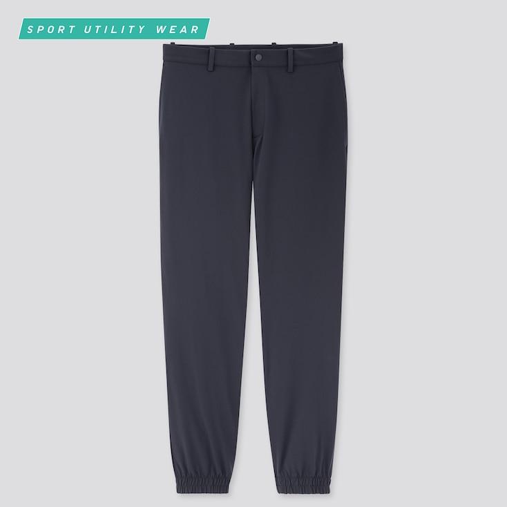 Men Ezy Dry-Ex Jogger Pants, Navy, Large