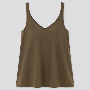 Women Beach Flared Sleeveless Bratop