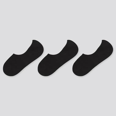 Women Invisible No-Show Socks (Three Pairs)