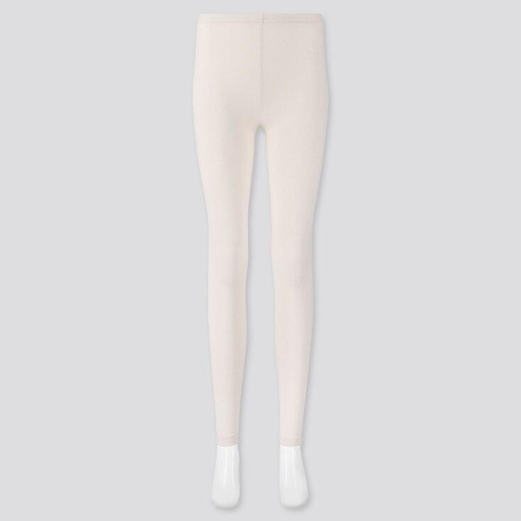 Women Leggings, Off White, Large
