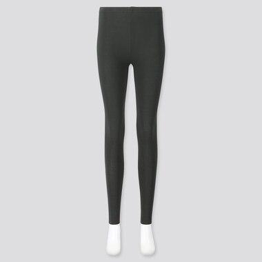 Women Leggings, Dark Green, Medium