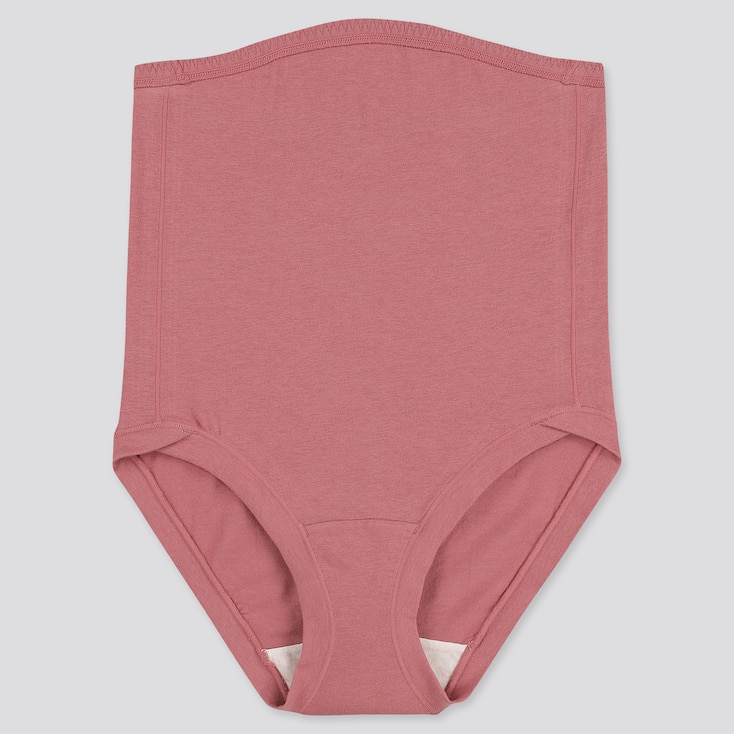 Women Maternity High-Rise Briefs (Online Exclusive), Pink, Large
