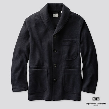 MEN ENGINEERED GARMENTS FLEECE TAILORED JACKET