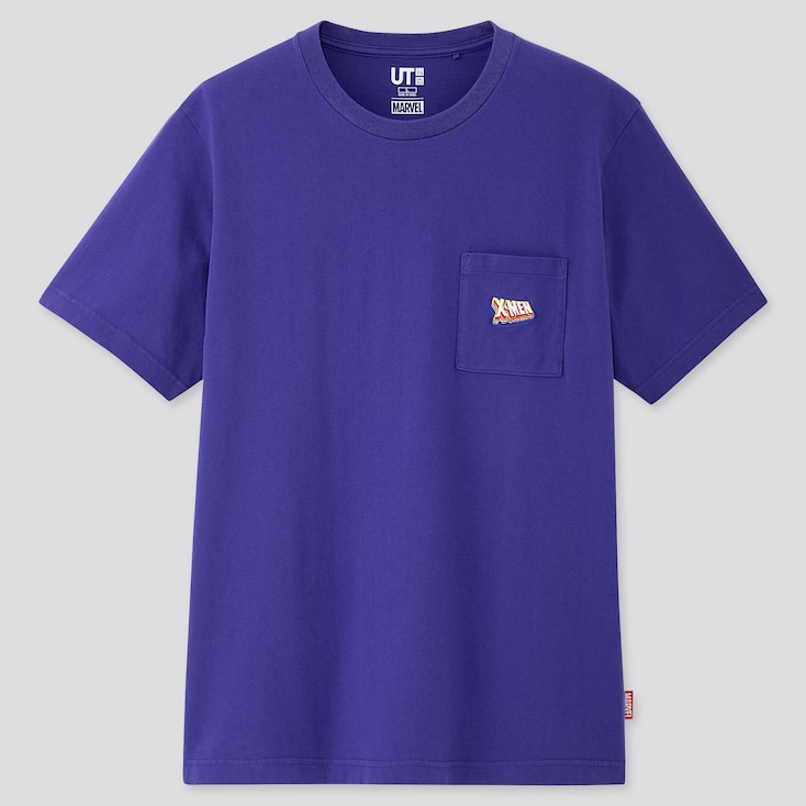 Marvel Retro Gaming Ut (Short-Sleeve Graphic T-Shirt), Purple, Large