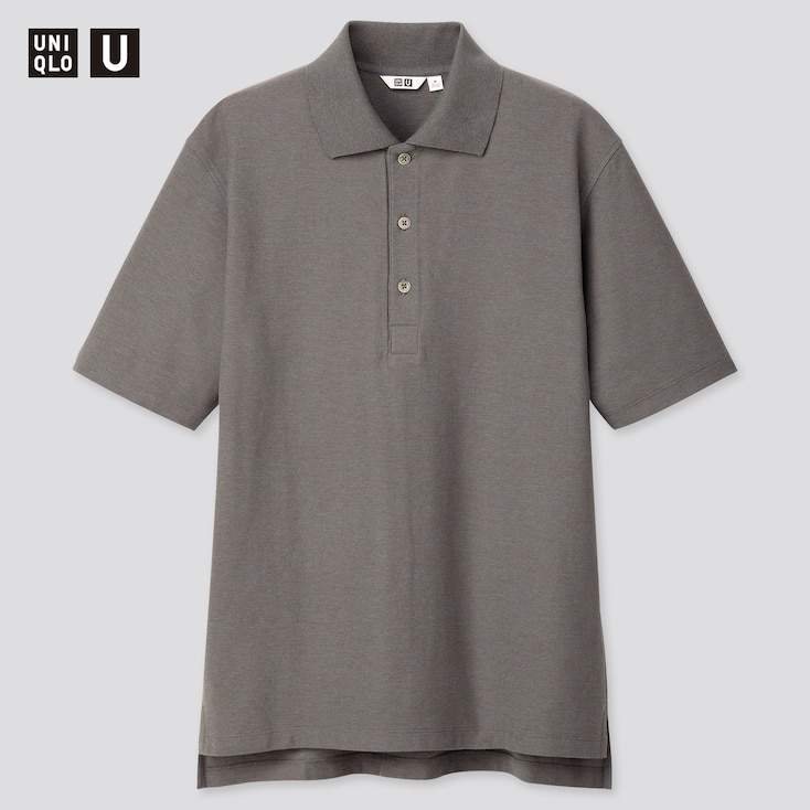 Men U Supima© Cotton Short-Sleeve Polo Shirt, Blue, Large