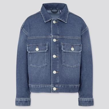 Kids Denim Jersey Jacket