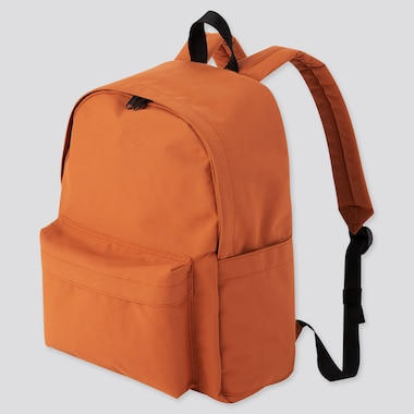 Backpack, Orange, Medium