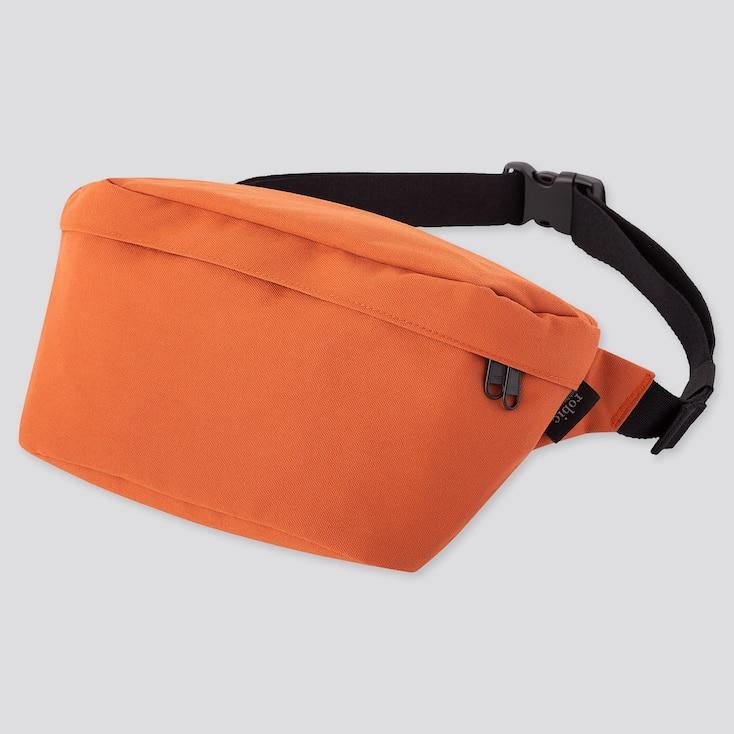 Single Strap Backpack, Orange, Large
