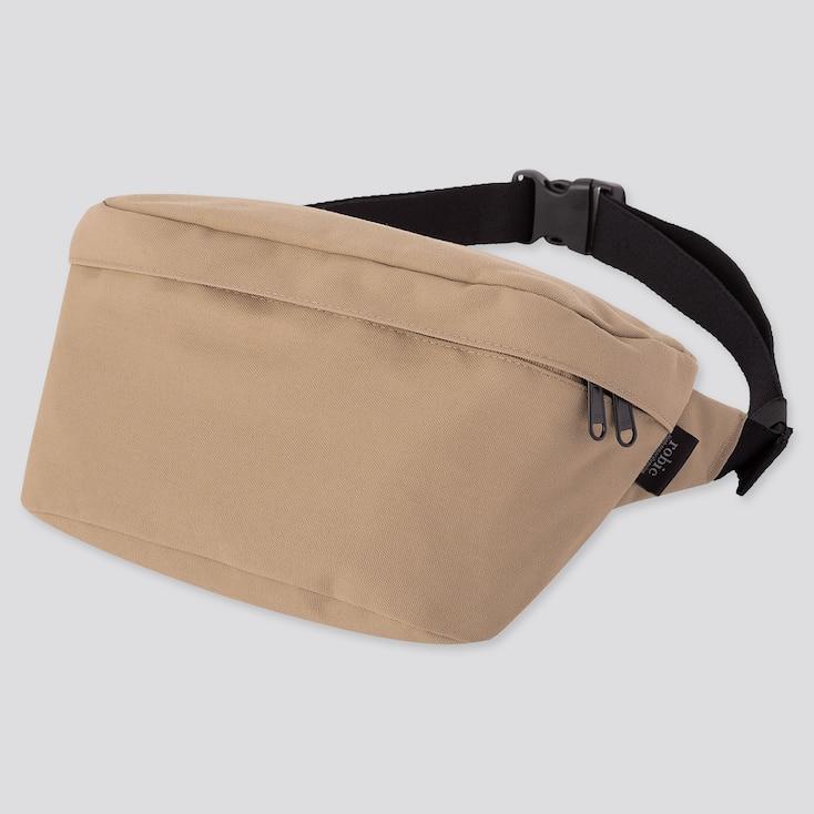 Single Strap Backpack, Beige, Large