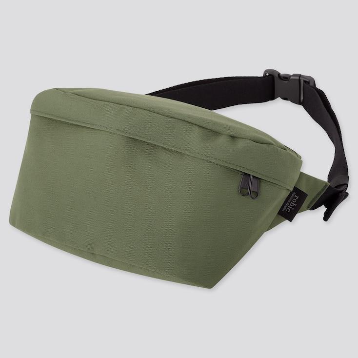 Single Strap Backpack,                             Green, Large