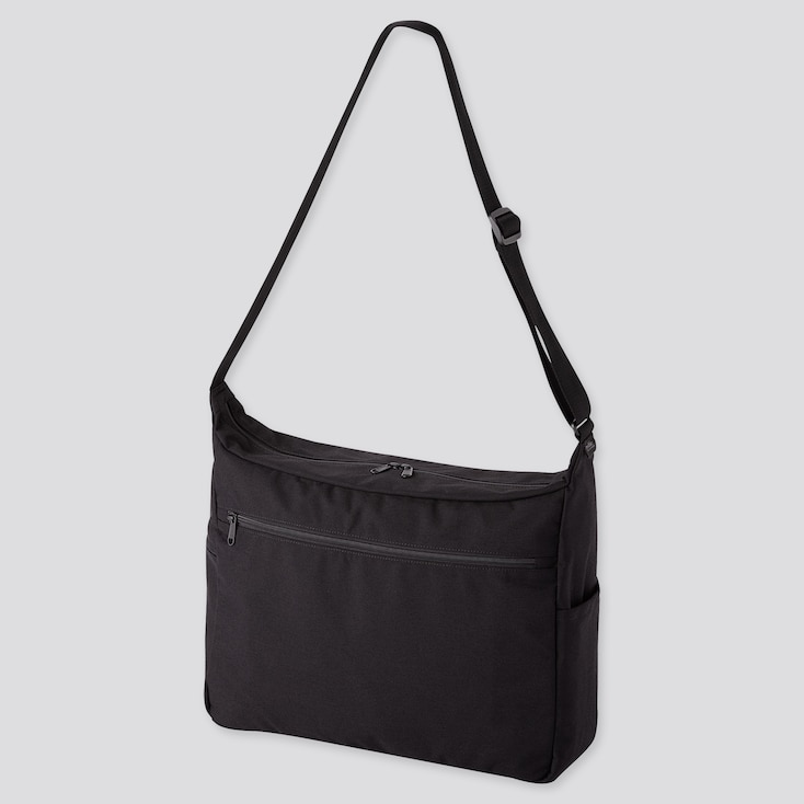 Shoulder Bag, Black, Large