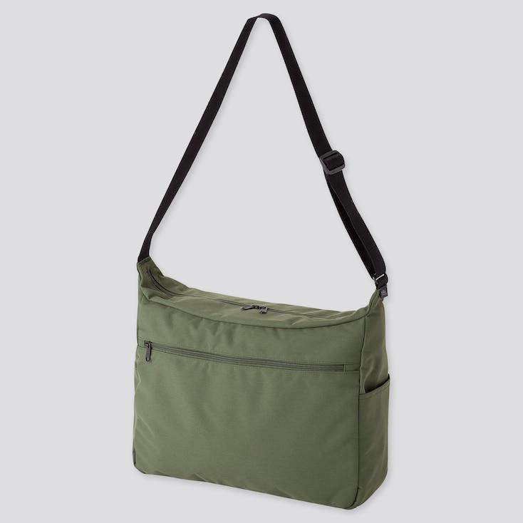 Shoulder Bag, Green, Large