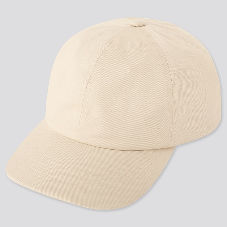 Uv Protection Twill Cap, Natural, Large