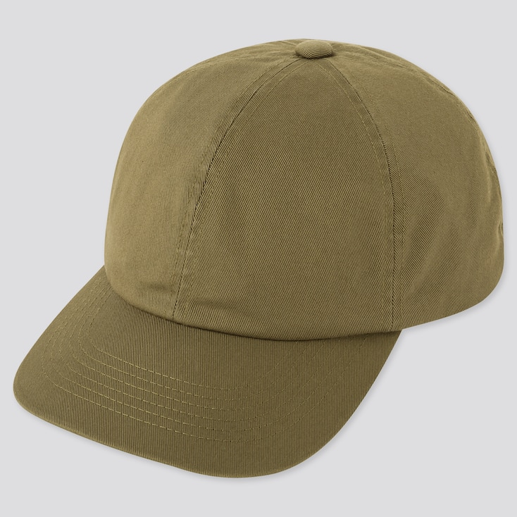 Uv Cut Twill Cap, Olive, Large
