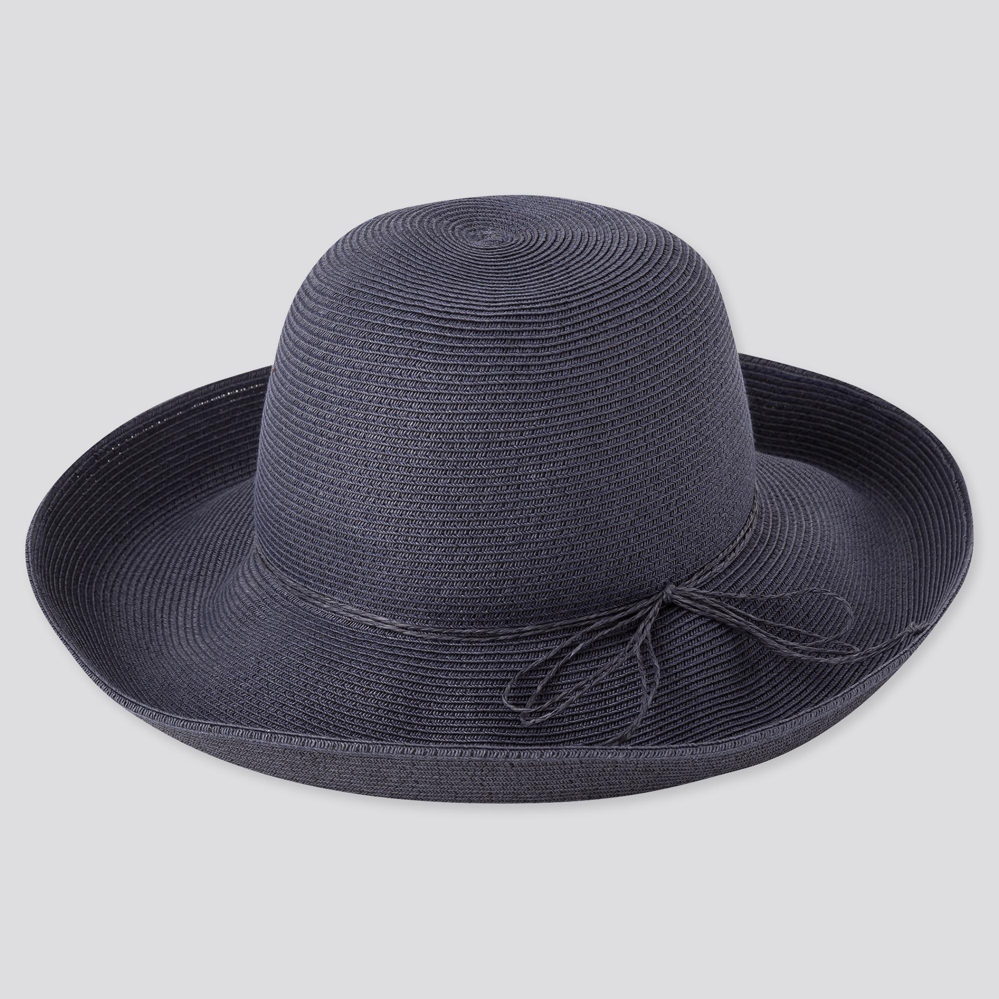 WOMEN UV PROTECTION ADJUSTABLE PAPER CAPELINE HAT
