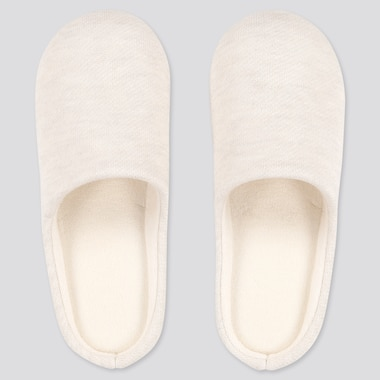 Slippers, Light Gray, Medium