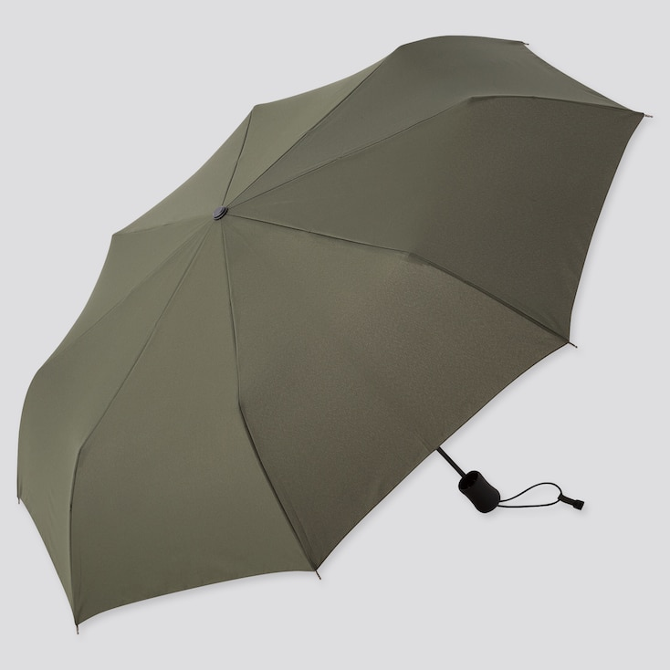 Compact Umbrella, Dark Green, Large