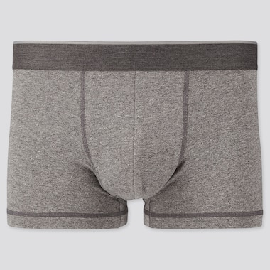 Men Supima® Cotton Low-Rise Boxer Briefs, Gray, Medium