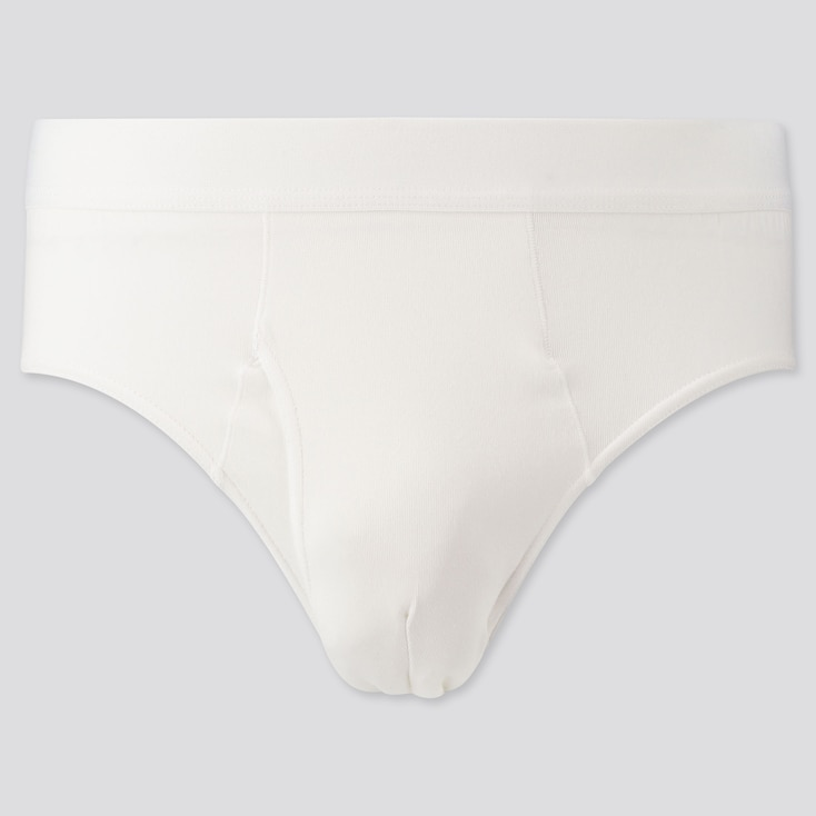 Men Supima® Cotton Briefs, White, Large