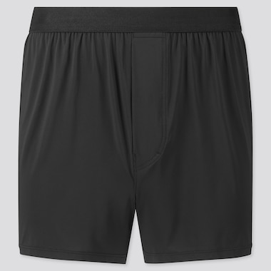 Men Airism Boxers (Online Exclusive), Black, Medium