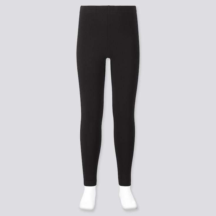 Girls Leggings, Black, Large