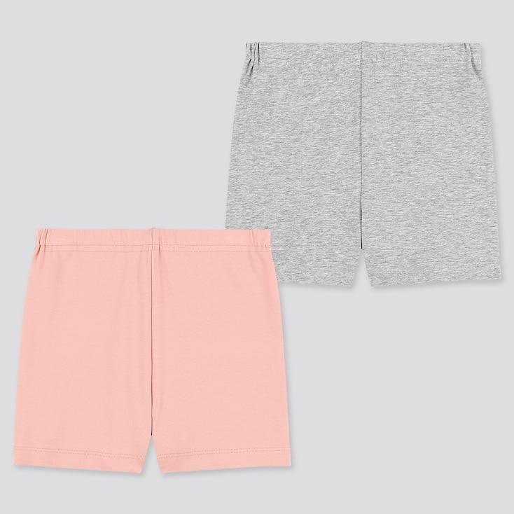 Girls Dry Undershorts (Set Of 2), Pink, Large