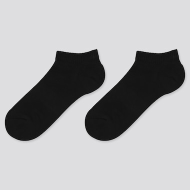 Kids Short Socks (2 Pairs), Black, Medium