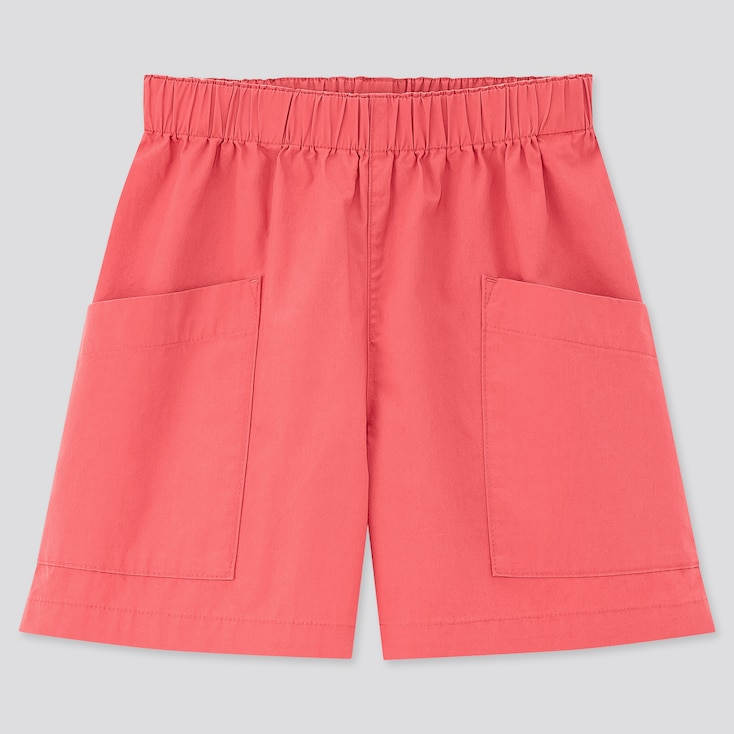Girls Easy Shorts, Pink, Large
