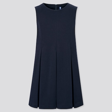 Girls Jumper Dress (Online Exclusive), Navy, Medium
