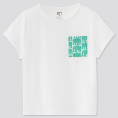 UT Finlayson T-Shirt Graphique Fille